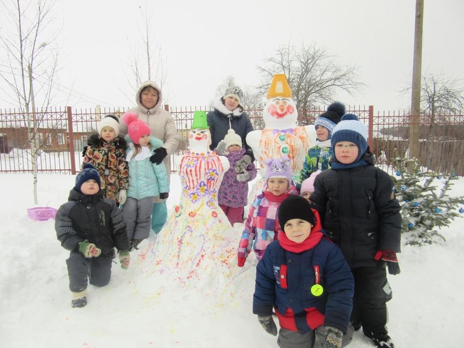Дети зима улица фото